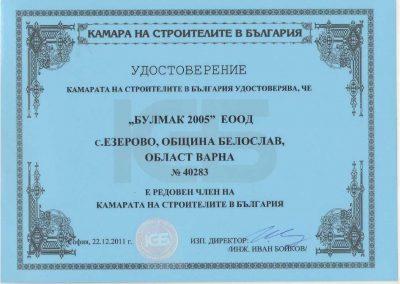 Удостоверение КСБ