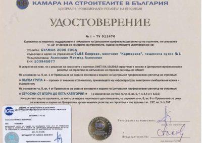 Удостоверение КСБ 1